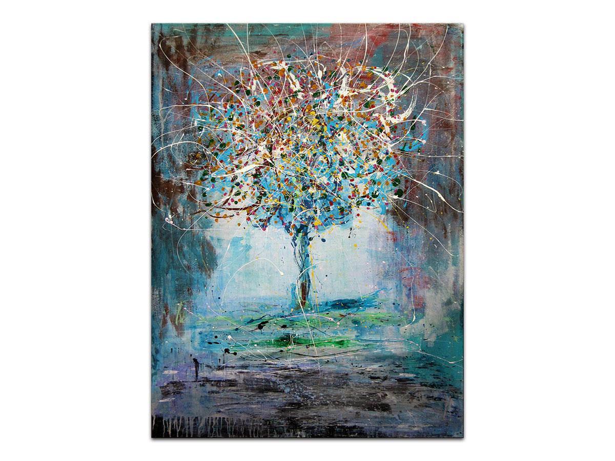 Moderne Slike U Galeriji Mag Apstraktna Slika Drvo Radosti